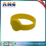 Pulseras durables de RFID de los Wristbands sin contacto RFID del silicón