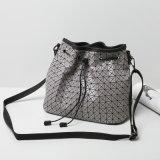 9개의 색깔 고품질 PU Crossbody는 자루에 넣는다 졸라매는 끈 마름모꼴 핸드백 (A079)를
