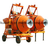 750L Electric Reverse Discharge Concrete Mixer (JZM750)