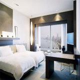 Meubles élégants en bois modernes de jeu de chambre à coucher d'hôtel