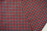 Tela de tres lanas de los colores para el rojo del juego
