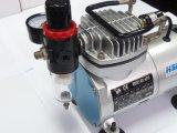 Pistolet de pulvérisation de bronzage de tatouage de nécessaire de l'aerographe As18k-2 d'air de compresseur de propulseur de passe-temps réglé de boyau