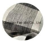 100%Linen 털실에 의하여 염색되는 직물 (QF13-0758)