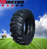Der schlauchlose 12-16.5 Rotluchs-Reifen, Schienen-Ochse ermüdet 12-16.5 10-16.5