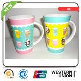 Tasse en céramique imprimée avec la poignée pour le café