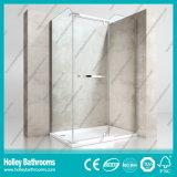 Cabine simples do chuveiro da barra impermeável de alumínio da ferragem do aço inoxidável (SE612C)