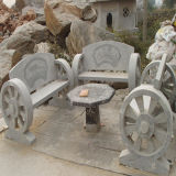 Het openlucht Meubilair van de Steen voor de Decoratie van de Tuin