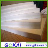 scheda della gomma piuma del PVC di densità di 0.5-0.8mm