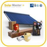 Système de chauffage à énergie solaire à haute pression fendu