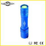 Quatro cores lanterna elétrica recarregável do diodo emissor de luz do foco telescópico de 240 lúmens (NK-1862)