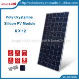 305W 310W 315W 6X12 Poly Crystalline Silicon picovolte Module Solar Panel