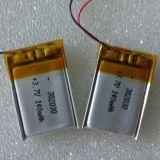 Bateria 3.7V 140mAh do polímero do lítio 302030 para Bluetooth Earbug