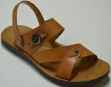Более дешевая хорошая подошва PU Lookings ягнится сандалии Fh10021