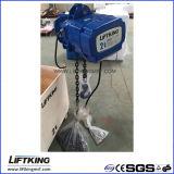 Grua Chain elétrica de velocidade dupla de Liftking 2t com suspensão do gancho (ECH 02-01D)