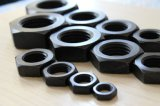 DIN439 Hex Thin Nut with Black