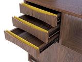 Gabinete dinamarquês do estilo do projeto do Sideboard moderno da sala de visitas