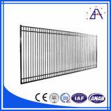 Cerca hecha por el perfil 6063 de la aleación de aluminio