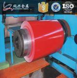 acier galvanisé enduit d'une première couche de peinture dans la bobine