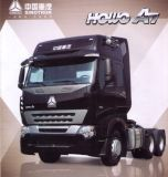 HOWO A7 371HPのトラクターのトラックのトレーラーのトラクターヘッドトラック