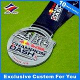 3D Antieke Zilveren Toekenning van de Kampioen van de Medaille van Triathlon van de Legering van het Zink
