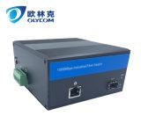 Convertitore industriale di media della fibra di 10/100/1000m con la scanalatura di LC (IM-MC110GE)