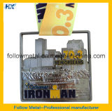 Медаль Ironman идущее