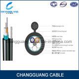 Câble blindé de fibre de GYTC8S OFC pour le câble fibre optique extérieur d'utilisation