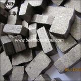 Segmento del mármol de la piedra caliza de la piedra arenisca del basalto del granito del diamante
