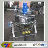 bouilloire à cuire revêtue électrique de mazout 200L
