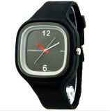 Yxl-972 New Fashion Casual Men Outdoor Sport Jelly Montre en Silicone Montre à Quartz Simple Femme Montre à Montre Horloge Cadeaux