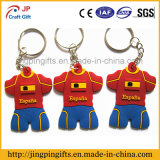 2016 World Cup Fans Fashion Personality Jersey PVC Key Chain