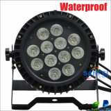 IP65 DEL 12PCS Rgbwauv Waterproof PAR Can Light