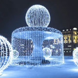 Lumière féerique de rideau en lampe Twinkling à piles décorative DEL