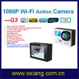 二重Screen WiFi Sport Camera 1080P 30fps