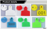 Modifiche di orecchio del maiale di stampa di numero del laser per la gestione animale