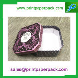 Contenitori di regalo di carta eleganti stampati marchio su ordinazione di lusso