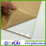 Il termine d'esecuzione dello strato acrilico/veloci iniziali trasporta lo strato del plexiglass