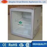 Mini refrigeradores dianteiros de vidro, Showcase do refrigerador da cerveja