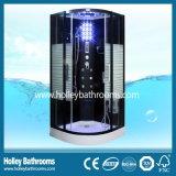 線がある半透明なガラスドア(SR117B)が付いている優秀な多機能の蒸気のシャワー室