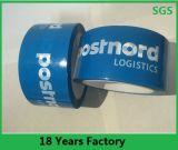 Cinta adhesiva del embalaje de encargo claro/transparente de BOPP, cinta impresa del lacre del cartón