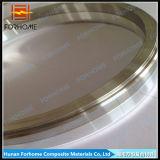 アルミニウムまたはチタニウムまたはステンレス鋼の爆発の接続管のための溶接の覆われた金属の転移の接合箇所