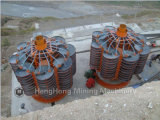 重力のプロセス用機器のための実験室の石炭のネジ・シュート