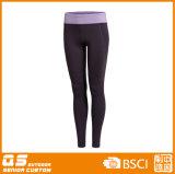 Los deportes de las mujeres que dirigen el secado rápido de poliéster / spandex pantalones