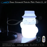 Lumières de Noël LED Snow Man Santa Claus Lampe de table