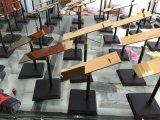 De Schoenen van de kleding knallen de Plank van de Vertoning van het Rek van de Vertoning van het Roestvrij staal van het Metaal