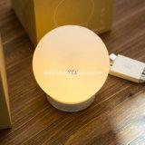 Lampe intelligente portative d'intérieur/extérieure de chambre à coucher de contact