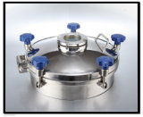 Food Grade Stainless Steel Manhole with Sight Glass (VE-03)