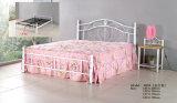 Modernes Schlafzimmer/Hauptmöbel-Metallfarbanstrich-Bett (602#white)