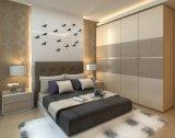 De het moderne Meubilair/Garderobe van de Slaapkamer van het Ontwerp met Schuifdeur