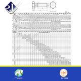 Boulon hexagonal Hotsale M10X100 DIN931 avec zingué